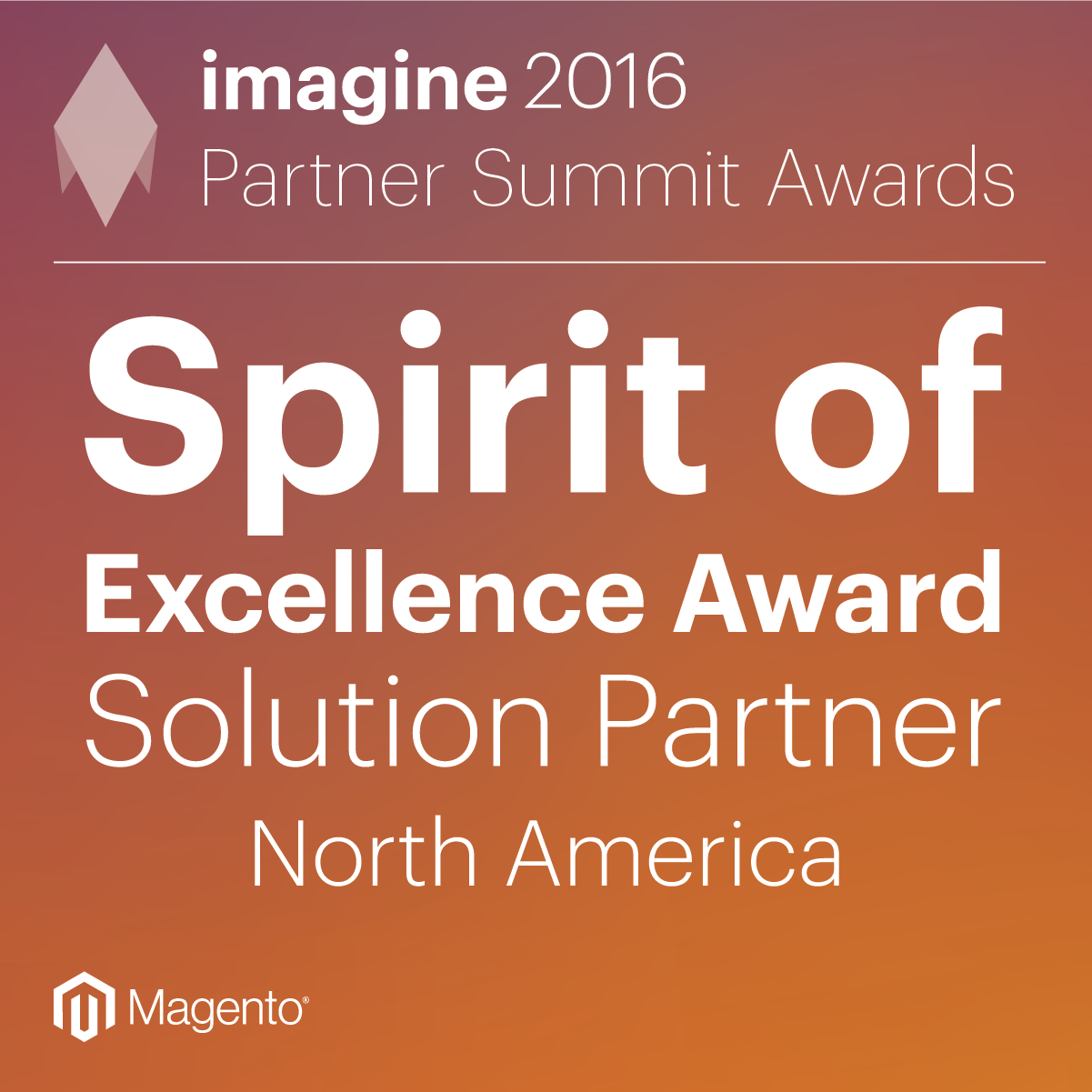Silk Wins Spirit of Excellence Award at 2016 Imagine Conference
