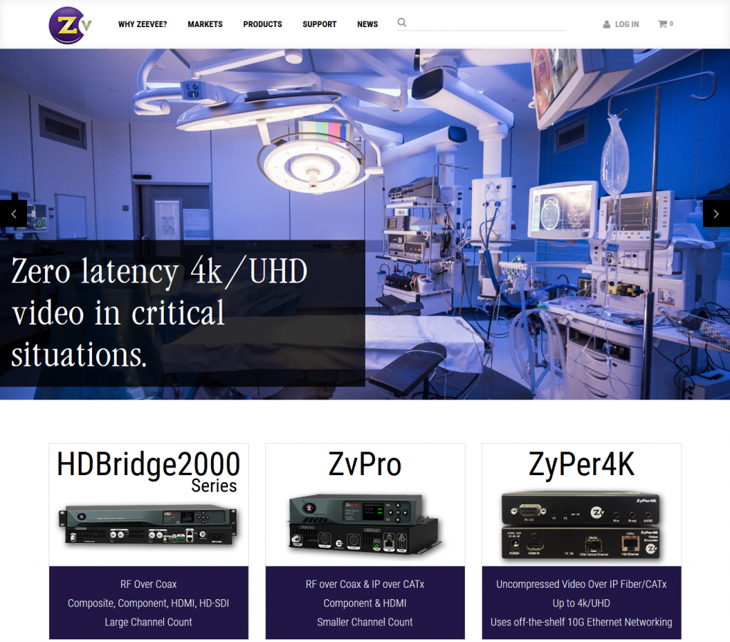 Silk Helps Launch First eCommerce Site for ZeeVee - Silk
