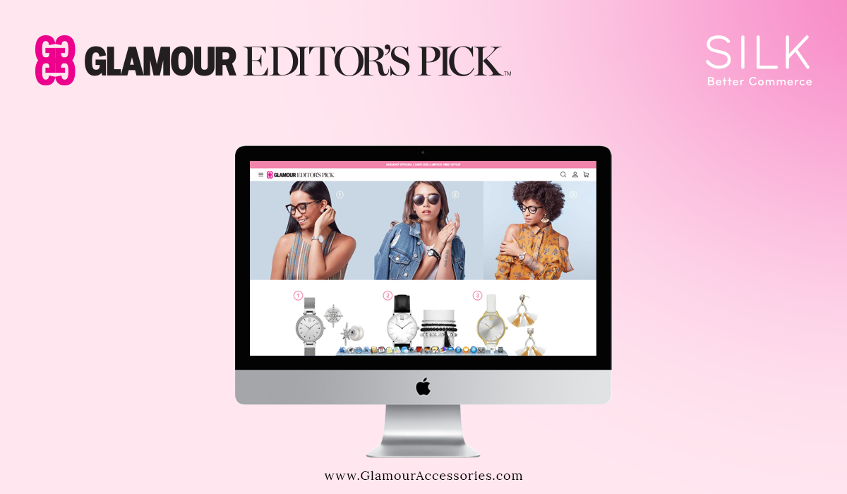 Silk Software Launches B2C Ecommerce Site for Glamour Accessories on the BigCommerce Platform